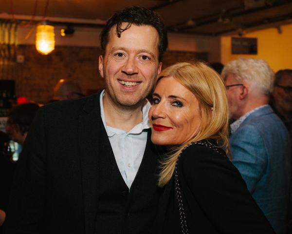 Jez Bond and Michelle Collins Photo